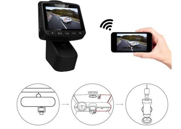 telecamera auto registratore